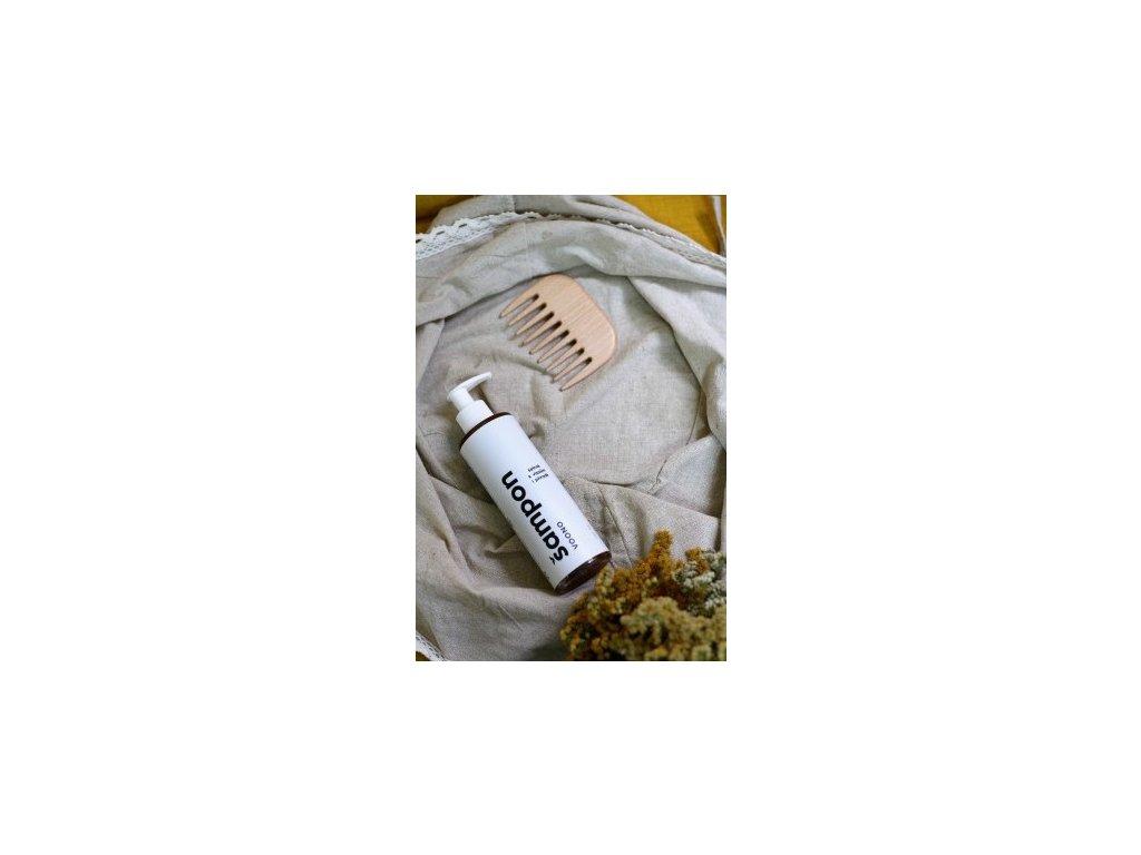 VOONO hydratačný šampón na poškodené a farbené vlasy, 250 ml