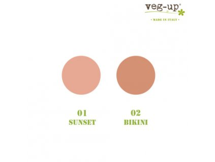Veg-up bronzer, 10 g. - 01 Sunset