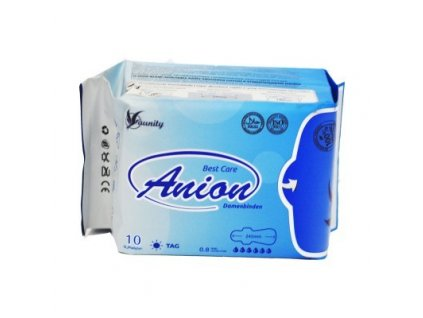 Aniónové hygienické vložky AUNITY/WINALITE denné,  10 ks v bal