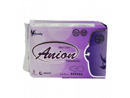 Aniónové hygienické vložky AUNITY/WINALITE nočné, 8 ks za bal
