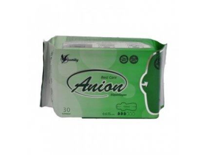 Aniónové hygienické vložky AUNITY/WINALITE intimky slipové,  30 ks v bal