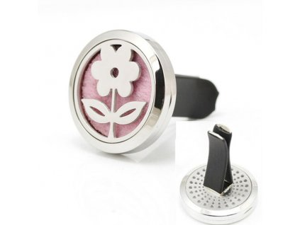 New Design 30mm Stainless Steel Car Flower Shape Aromatherapy Essential Oil Diffuser Perfume Locket Jewelry Clip.jpg 640x640